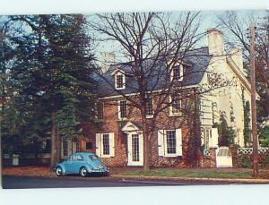 Unused Pre-1980 OLD CARS & RIDGELY HOUSE Dover Delaware DE r8781