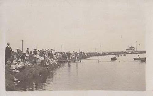 Henley Regatta Boat Race Real Photo Postcard
