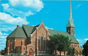 Frankenmuth Michigan~St Lorenz Lutheran Church~Services in German 1950s