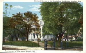 Stanton Hall Ante-Bellum Residence - Natchez MS, Mississippi - Linen