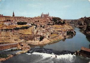 Spain Toledo Vista Parcial Tojo River Partial view