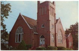 Montevallo,  Alabama, Early View of The First Methodist Church