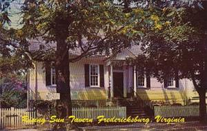Rising Sun Tavern Fredericksburg Virginia