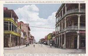 Panama Panama City Bolivar Street Looking South sk1661a