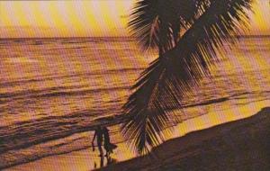 Advertising Pan American World Airways To Hawaii Waikiki Beach