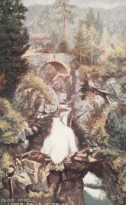 BLAIR ATHOL , Scotland , 1900-10s ; Lower Falls of Bruar ; TUCK 7005
