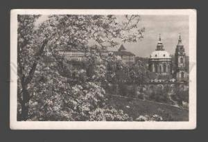 087190 CZECHIA Praha castle Vintage photo PC