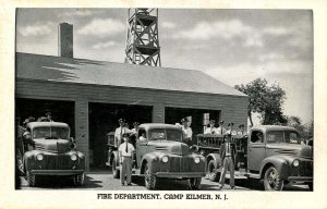 NJ - Camp Kilmer. Fire Department