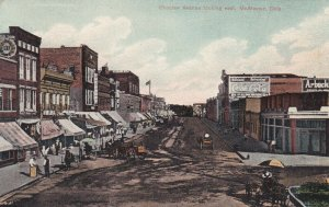 McALESTER, Oklahoma, PU-1908; Choclaw Avenue looking East
