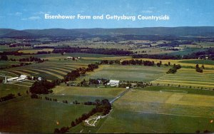 Pennsylvania Gettysburg The Eisenhower Fram and Gettysburg Countryside