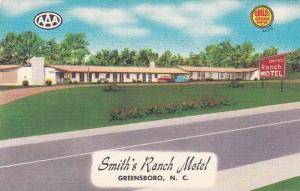 North Carolina Greensboro Smiths Ranch Motel