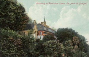 STE. ANNE DE BEAUPRE, Quebec, 00-10s; Monastery of Fanciscan Sisters