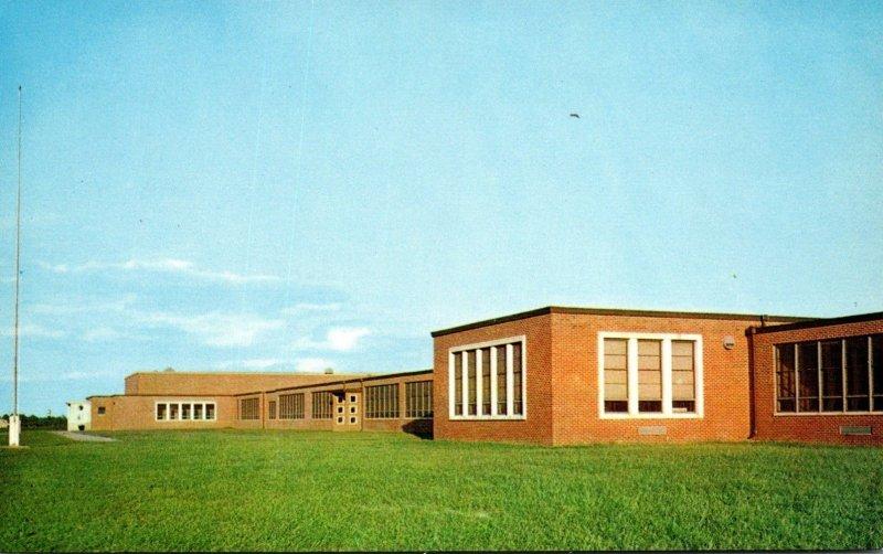 Maryland Worcester County Stephen Decatur Junior-Senior High School Between B...