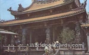 China Taipei Grand Hall, Lungshan Temple