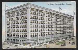 Siegel Cooper Department Store Chicago Illinois Used c1915