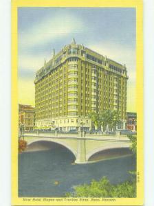 Linen MAPES CASINO HOTEL Reno Nevada NV HQ3382