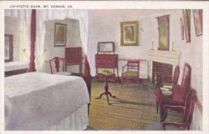 Virginia Mount Vernon Lafayette Room
