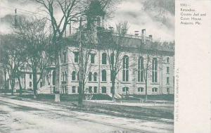 Maine Augusta Kennebec County Jail & Court House