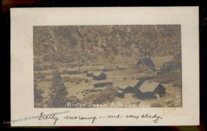USA 1909 Colorado SOUTH CANYON COLO DPO Coal Mine RPPC 88050