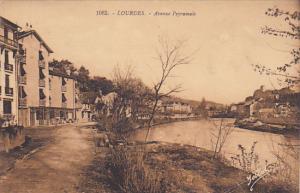 France Lourdes Avenue Peyramale