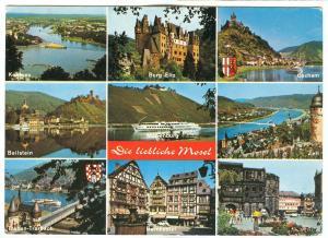 Germany, Die liebliche Mosel von Koblenz bis Trier, unused Postcard