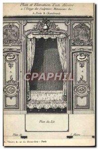 Old Postcard Fancy antique Decor