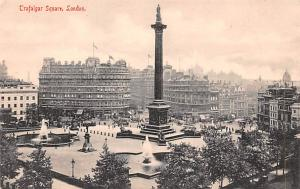 London United Kingdom, Great Britain, England Trafalgar Square London Trafalg...