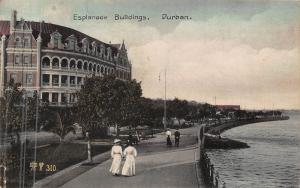 South Africa Durban Esplanade Buildings postcard