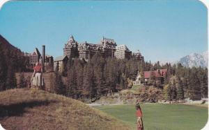 Golf Course, Banff Springs Hotel , Alberta, Canada , PU-1956