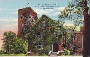 Alabama Anniston St Michaels and All Angels Episcopal Church Curteich