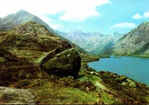Scotland Isle Of Skye Loch Coruisk In The Heart Of The Cuillin Hills