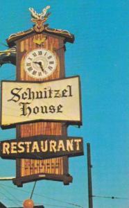 Grandfather Clock Sign, The Schnitzel House, International Restaurant, Vancou...
