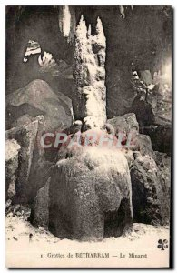 Postcard Ancient Caves of Betharram The Minaret