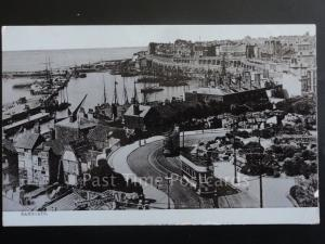 Kent: Ramsgate c1907 showing TRAMWAY, HARBOUR & BREAKFAST TEAS & OYSTER ROOMS