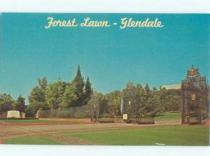Pre-1980 PARK SCENE Glendale - Los Angeles California CA AF7285@