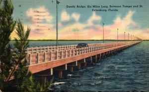 Florida St Petersburg Gandy Bridge 1941