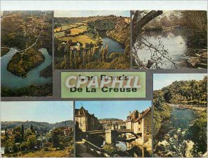 Modern Postcard La Vallee Creuse Crozant La Boucle du Pin Glenic La Celle-Dun...