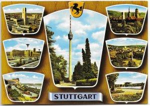 Stuttgart Germany.  Unused. Scenes of the City.  Nice