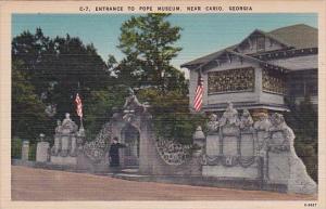Entrance To Pope Museum Near Cario Georgia