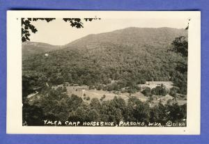 Parsons, West Virginia/WV Postcard,YMCA Camp Horseshoe, RPPC
