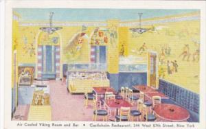 Air Cooled Viking Room & Bar Castleholm Restaurant West 57th Street New York ...