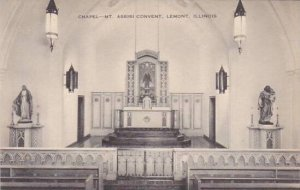 Illinois Lemont Chapel Mount Assisi Convent