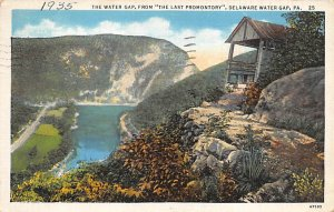 The Water Gap, from The Last Promontory Delaware Water Gap Pennsylvania, PA
