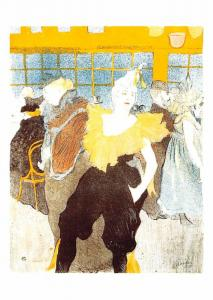Henri de Toulouse Lautrec - Clowness at he Moulin Rouge