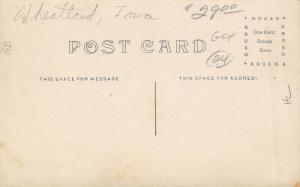 Wheatland Iowa~Holland Bros General Merchandise Store~Bank~Hardware~1912 RPPC