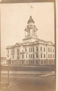 F35/ Decorah Iowa RPPC Postcard c1910 Court House Building