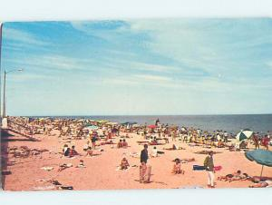 Pre-1980 BEACH SCENE Rehoboth Beach Delaware DE AE9236