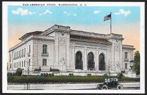 Pan-American Union Washington DC Unused c1920s