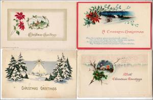 Xmas - 4 - Christmas Cards (1 Winsch )