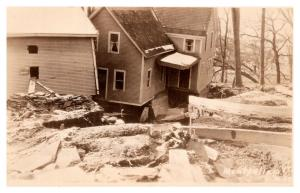 Vermont  Montpelier ,  Houses damaged in Flood ,  RPC